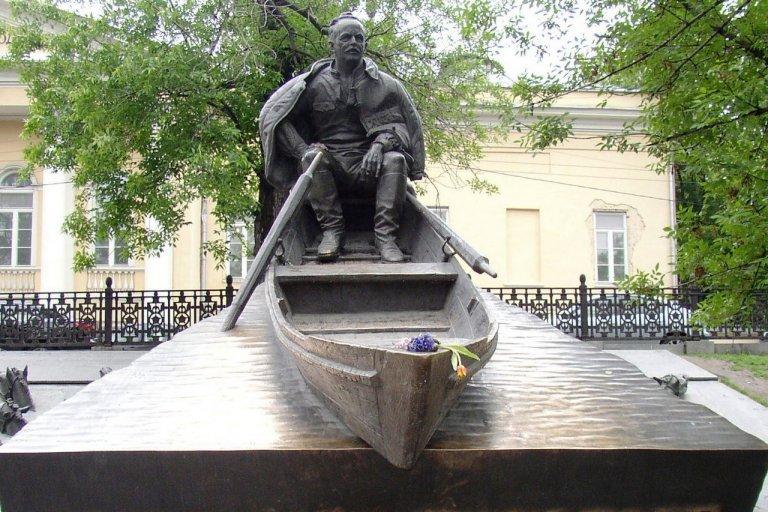 Памятник М.А. Шолохову