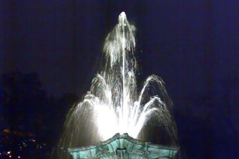 Фонтан на Кудринской площади